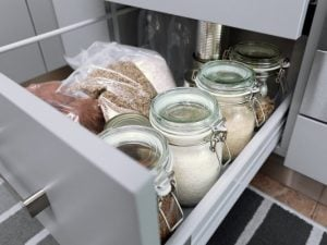 15 Genius Pantry Organization Ideas | Whether you're looking for small storage solutions for small shelves and/or small cabinets, or you have a kitchen with a deep, walk in pantry like Khloe Kardashian, or perhaps you're transforming a closet into the pantry of your dreams, we're sharing our best tips and tricks to help you keep your cans, spices, and other staples neat and organized. There are tons of storage solutions you can buy at Dollar Tree and Ikea, and were sharing our faves!