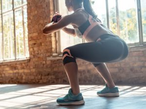 15 Leg and Glute Workouts | Whether you workout at home or at the gym, prefer to use weights (dumbbells, barbells, or kettlebells) or resistance bands, or need no equipment workouts you can stream from anywhere, this post has the best exercises to help you tighten and tone your legs, butt, and thighs. We've included 10 exercises, including squat and lunge variations, glute bridges, and dead lifts, as well as the best videos you can stream for free so you can workout anywhere!