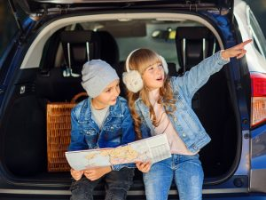11 Car Games for Kids the Whole Family Will Love | Whether you're embarking on a long road trip, driving car pool, or running errands with your kids, there are tons of easy to setup and super fun car games you can play together to help beat boredom and pass the time. Perfect for kids of all ages - even for tweens and for teenagers! - this post has lots of ideas to inspire you. From cheap store bought games to fun DIY travel activities, this list will not disappoint!