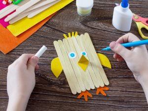 24 Easter Crafts for Kids of All Ages and Stages | Whether you're looking for simple Easter crafts for toddles and preschoolers, or easy fun projects for kids in elementary school that require a little more planning and creativity, this post will inspire you. From handprint chick crafts, to upcycled bunny crafts, to DIY Easter baskets and more, we've even included our favorite Easter traditions for kids to make the holiday extra special this year!