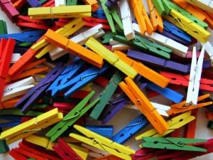 28 Simple and Fun Clothespin Crafts for Kids | If you want to know how to make crafts out of clothespins, this post has tons of great ideas for kids in preschool, kindergarten, and elementary school. These art projects can be enjoyed at home, in the classroom, and even in Sunday school, and are sure to keep your little ones entertained for hours. #clothespin #clothespincraft #clothespins #closepincrafts