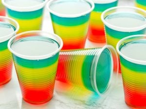 50 Easy Jello Shot Recipes   Jello shots are great for parties and celebrations, and they are so easy to make. They may remind you of your college years, but they've received a serious glow up in recent years, with tons of delicious recipes to choose from. While you may still prefer basic vodka jello shots, there are so many other ideas to choose from, and we've rounded up the best of the best! From tequila, to peach schnapps, to champagne, to Malibu rum and more, these recipes are delish!