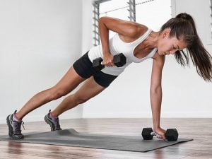 20 Upper Body Workouts for Women   If you're trying to get into a strength training routine and want to know how to tighten and tone your arms, shoulders, and back at home, we're sharing the best exercises to help! Whether you have a set of dumbbells, kettlebells, or resistance bands - or no equipment whatsoever - we've curated the best home workouts to help you burn fat and build muscle. Say goodbye to flabby arms and bat wings and commit to the challenge!